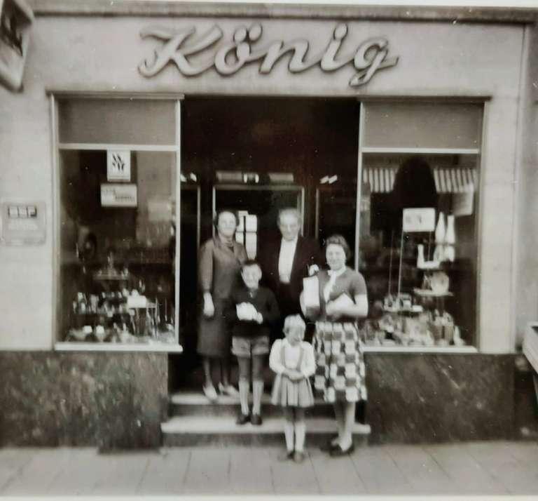 Geschäft König 1945 in Unterfranken Bad Brückenau